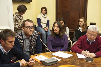 Momento del debate. Foto: Pablo Vázquez/APM.