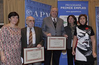 Entrega de diplomas de Asociado de Honor (50 años en la Asociación).