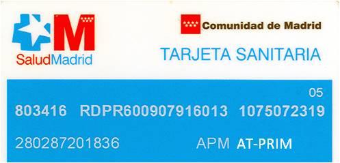 Sin tarjeta sanitaria de la comunidad de madrid te for Oficina seguridad social madrid