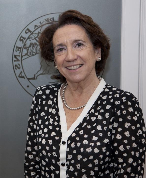 Victoria Prego de Oliver Tolívar (Madrid, 1948)