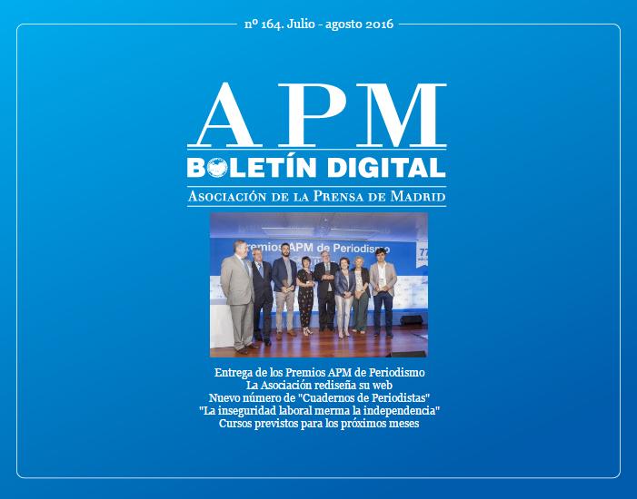 Boletín APM Digital de julio-agosto 2016