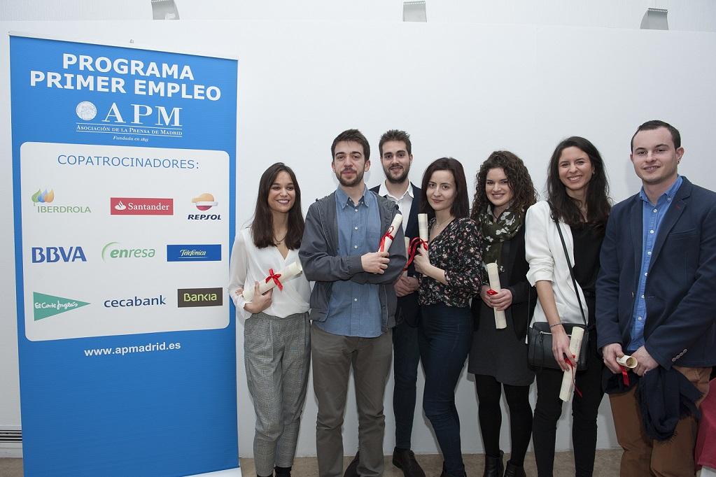 La Asociación de la Prensa de Madrid lanza la XVIII edición del Programa Primer Empleo