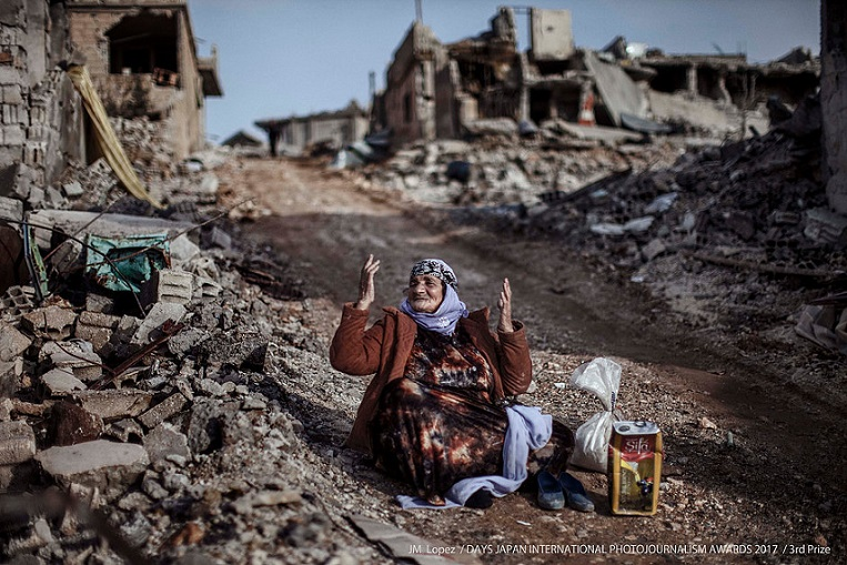 El fotoperiodista español JM López, premiado por un reportaje sobre la guerra de Siria