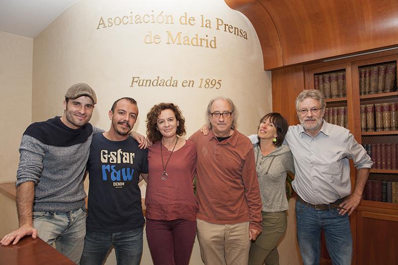 Charla sobre periodismo con Els Joglars en la APM