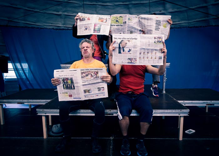 """Socios APM: 24% de descuento en las entradas de la obra """"ZENIT"""", de Els Joglars"""