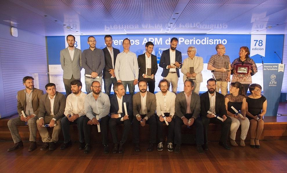 Victoria Prego, en los Premios APM de Periodismo: 'Los periodistas tenemos la obligación de resistir'