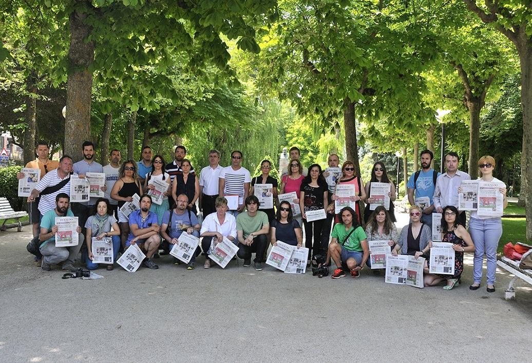 La fusión de 'Diario de Soria' y 'Heraldo de Soria' podría saldarse con 29 despidos