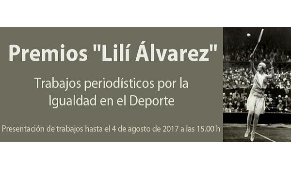 El 4 de agosto expira el plazo para presentarse al Premio 'Lilí Álvarez' 2017