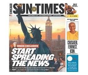 'The Chicago Sun-Times', vendido por un dólar