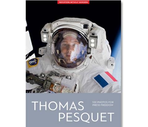 Thomas Pesquet protagoniza el nuevo álbum de Reporteros Sin Fronteras por la libertad de prensa