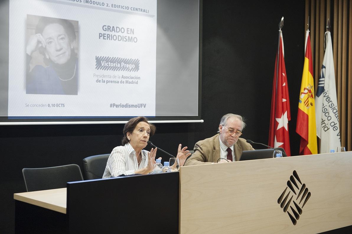 La presidenta de la APM sitúa el periodismo espectáculo y el propagandista como dos de los males de la profesión