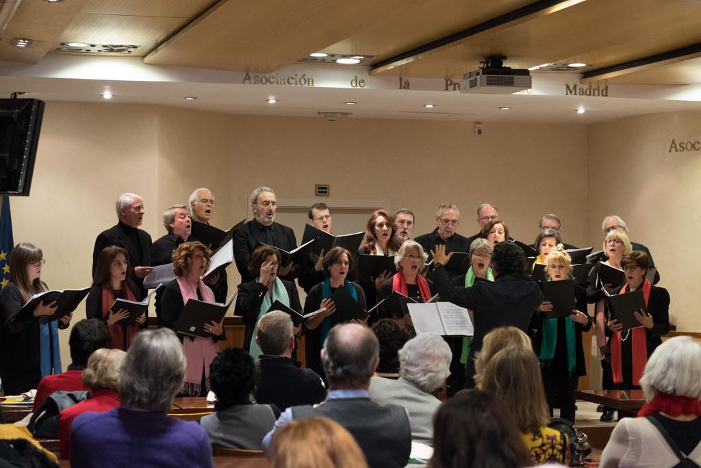El Coro de la APM ofreció su tradicional concierto de Navidad