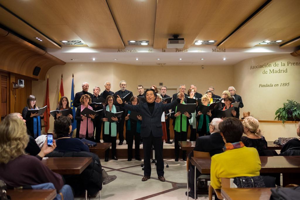 Concierto de villancicos del Coro de la Asociación de la Prensa de Madrid