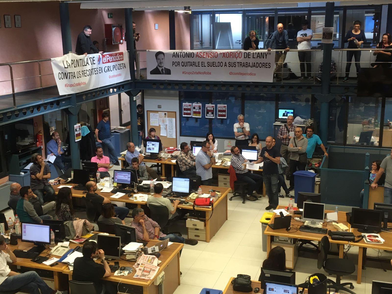 Grupo Zeta anuncia un ERE en 'El Periódico', informa su comité de empresa