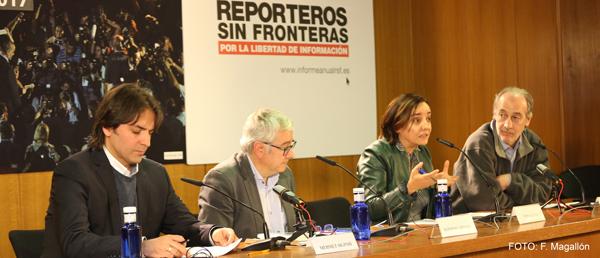 Reporteros Sin Fronteras constata una erosión generalizada de las condiciones para ejercer el periodismo en el mundo