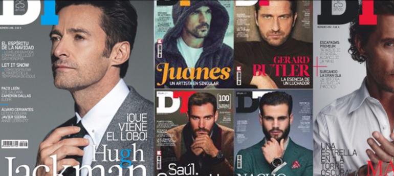 """Cierra la revista masculina """"DT"""" tras 26 años en el mercado"""