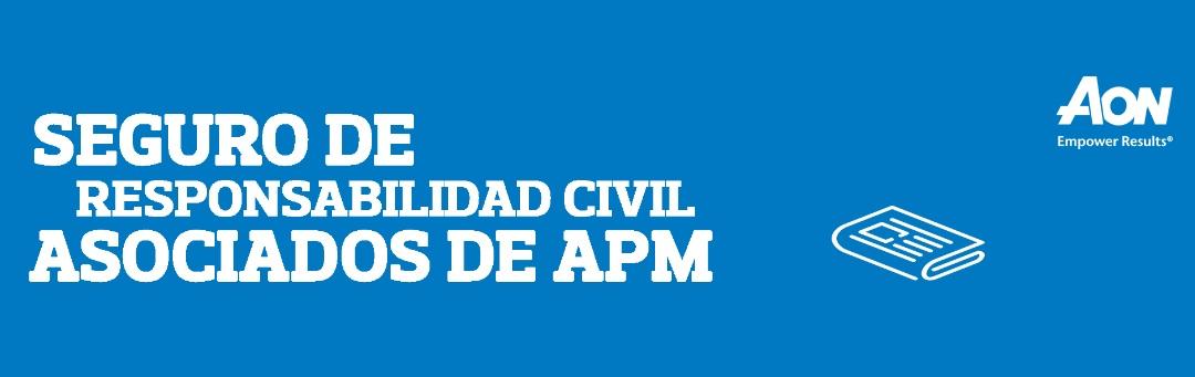 Seguro de Responsabilidad Civil exclusivo para periodistas de la APM