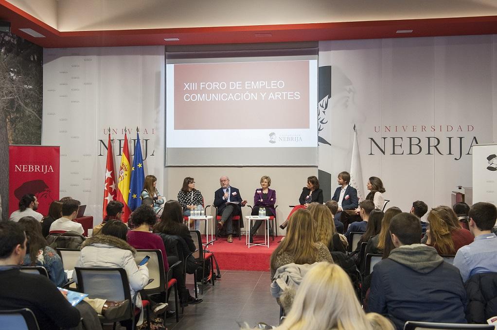 La APM presenta sus propuestas de empleo a los alumnos de la Universidad Nebrija