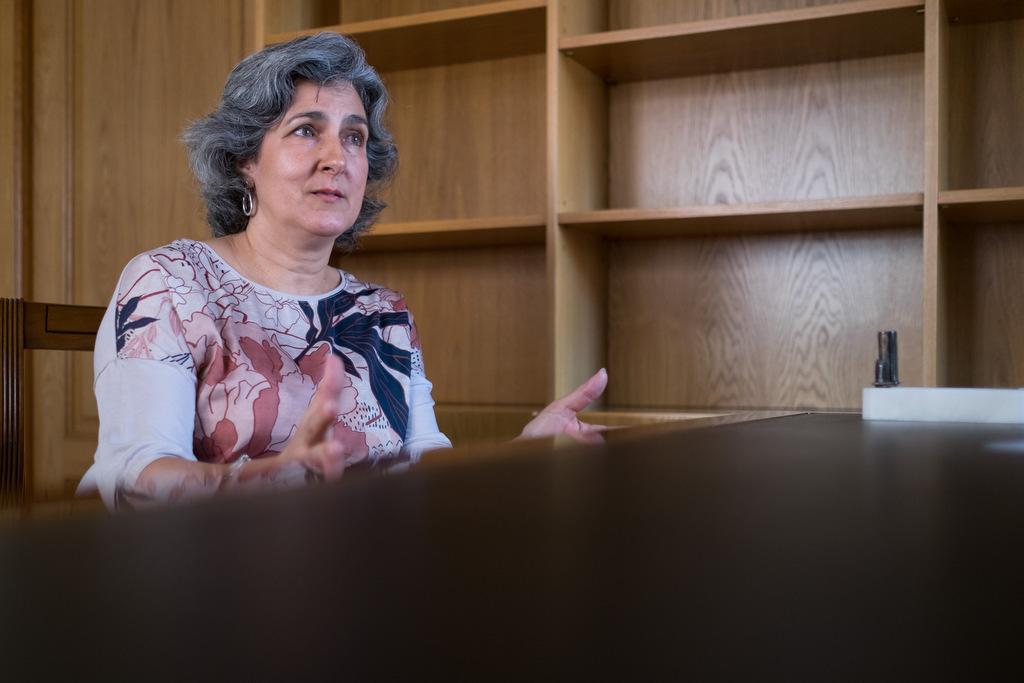 Medialdea, durante la entrevista. Elena Hidalgo / APM