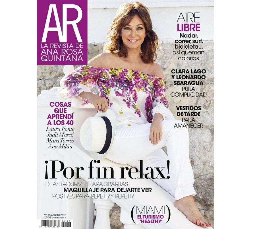 'La Revista de Ana Rosa' publicará su último número el 15 de junio tras 17 años en los quioscos