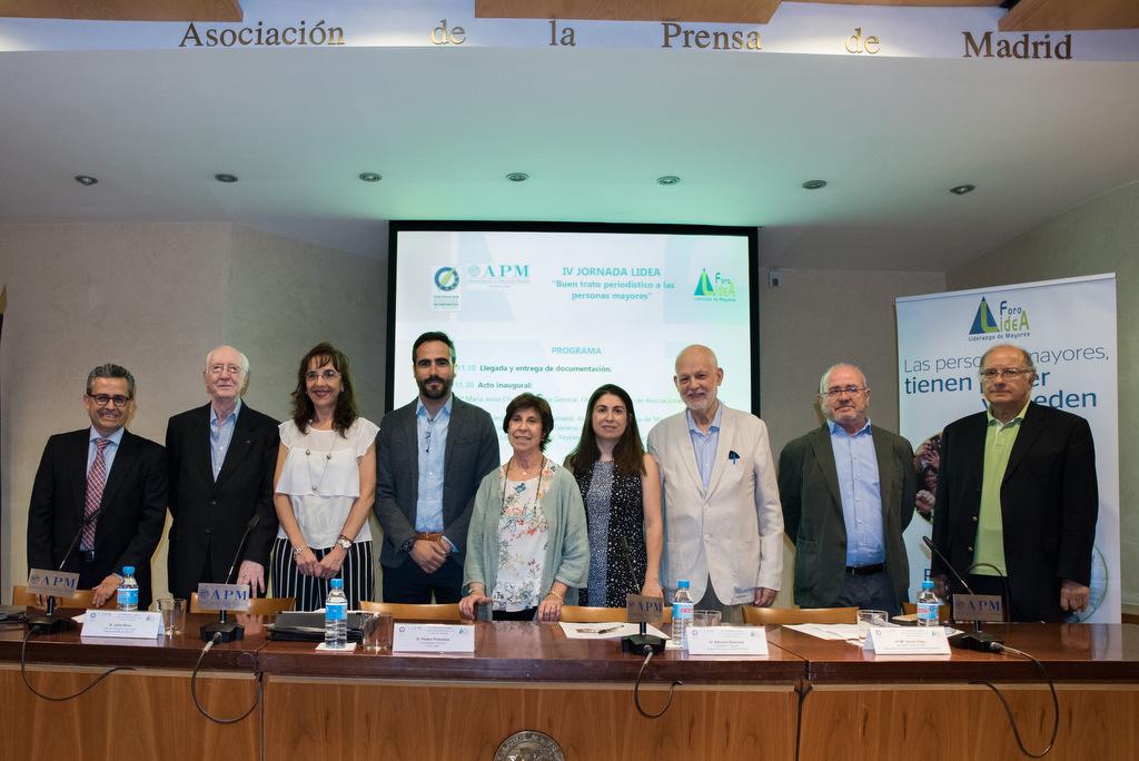 El Foro LideA presenta el 'Decálogo de buen trato periodístico a las personas mayores'