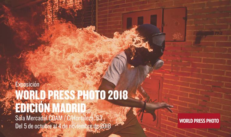 La exposición World Press Photo 2018 se puede visitar en Madrid hasta el 4 de noviembre