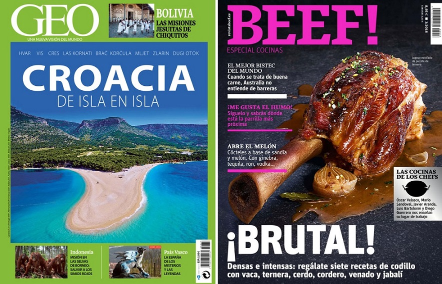 La revista 'GEO' se despide en noviembre tras 31 años en los quioscos