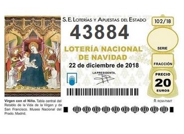 Ya está disponible la Lotería de Navidad de la FAPE 2018