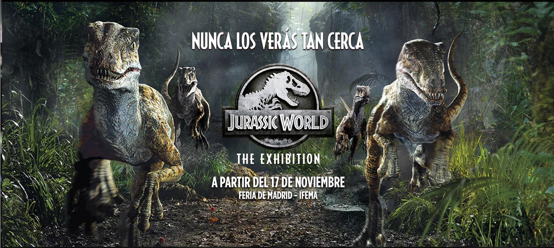 ACTUALIZACIÓN | Socios APM: Descuentos hasta el 30% en las entradas de Jurassic World: The Exhibition