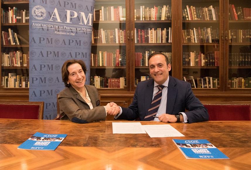Cofares, nuevo copatrocinador del Programa Primer Empleo de la Asociación de la Prensa de Madrid