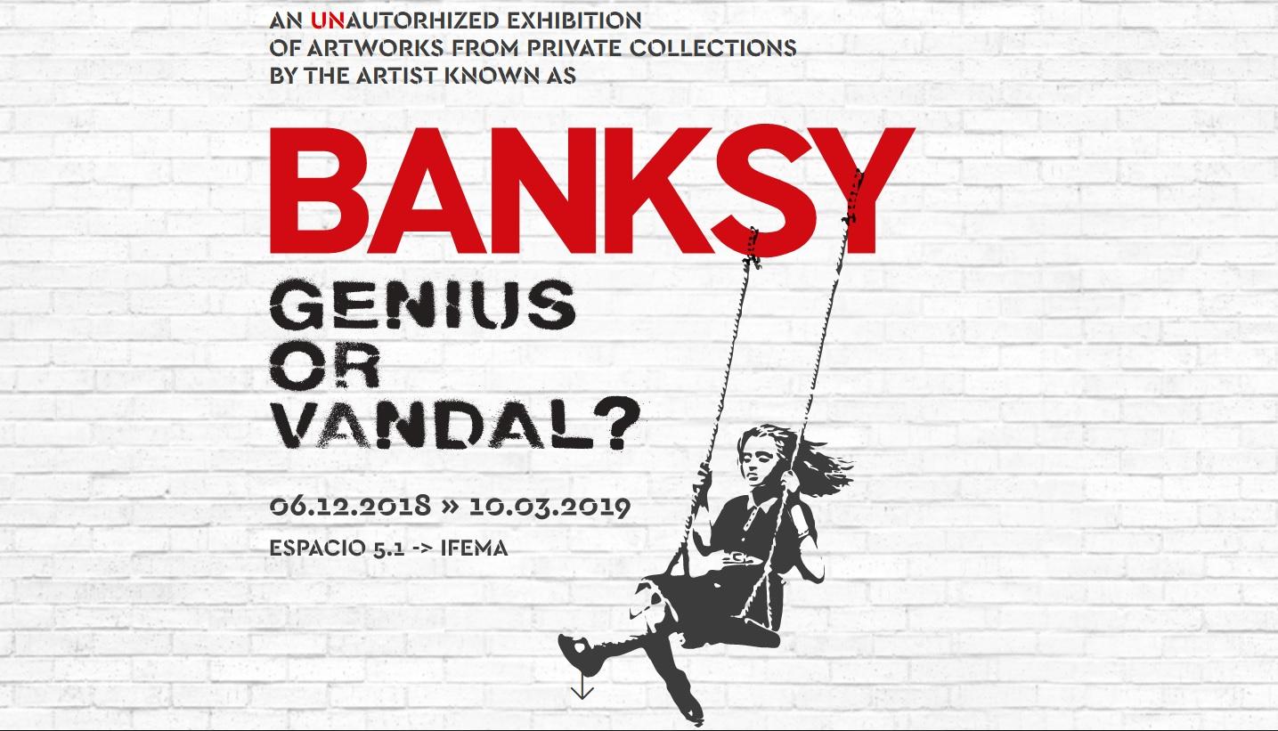 AMPLIADO HASTA EL 19 DE MAYO Socios APM: hasta 20% de descuento en la exposición 'BANKSY: Genius or Vandal?'
