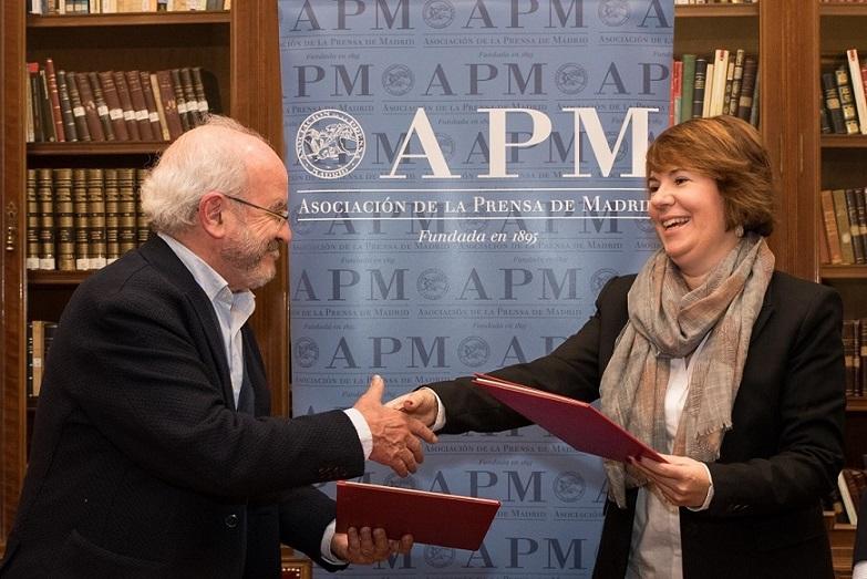 La APM y la Agencia para el Empleo de Madrid cooperarán en la formación e inserción laboral de los periodistas