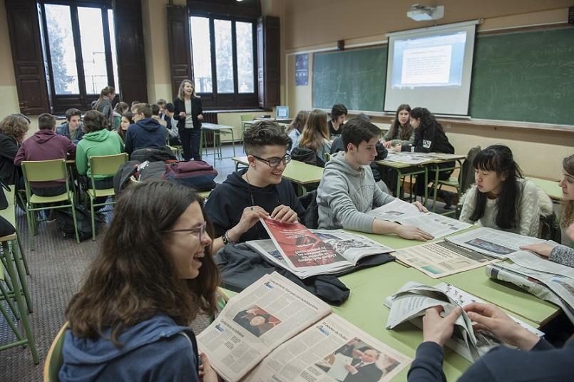 Combatir la desinformación centra los 'Talleres de fomento de la lectura de prensa en la escuela 2019'