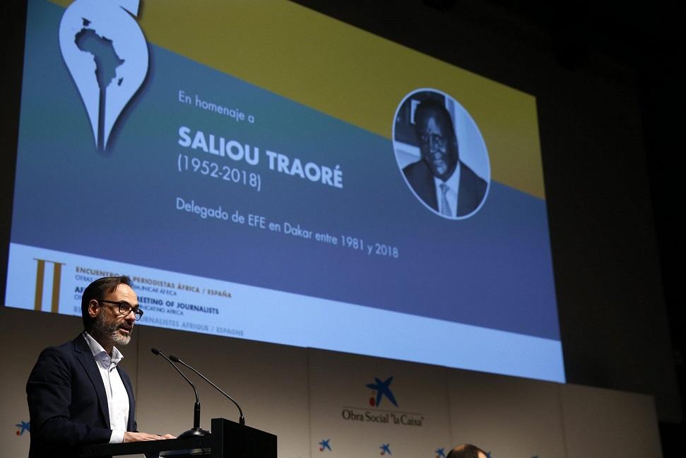 La agencia Efe y Casa África crean el Premio Saliou Traoré de periodismo