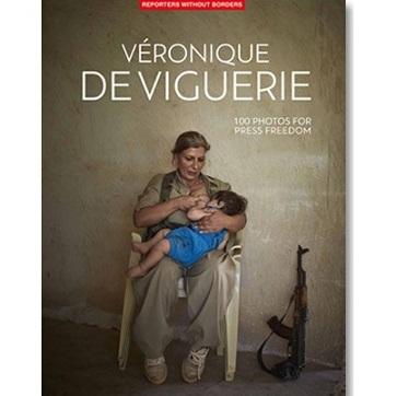 Véronique de Viguerie protagoniza el último álbum de Reporteros Sin Fronteras por la libertad de prensa