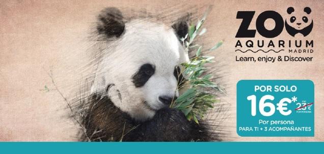 Socios APM: entradas en el Zoo Aquarium por 16 euros el 8 y 9 de junio