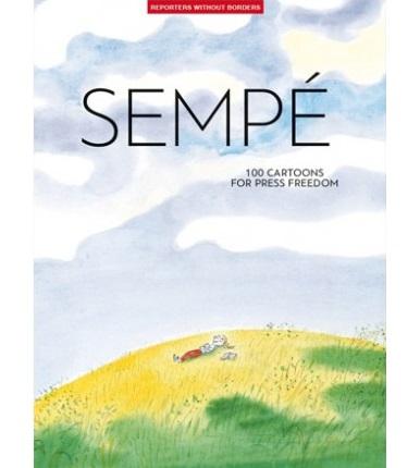 Las viñetas de Sempé protagonizan el último álbum de Reporteros Sin Fronteras por la libertad de prensa