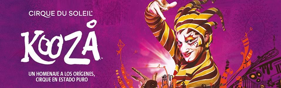 """Socios APM: descuento del 30% en funciones de """"Kooza"""", del Cirque du Soleil"""