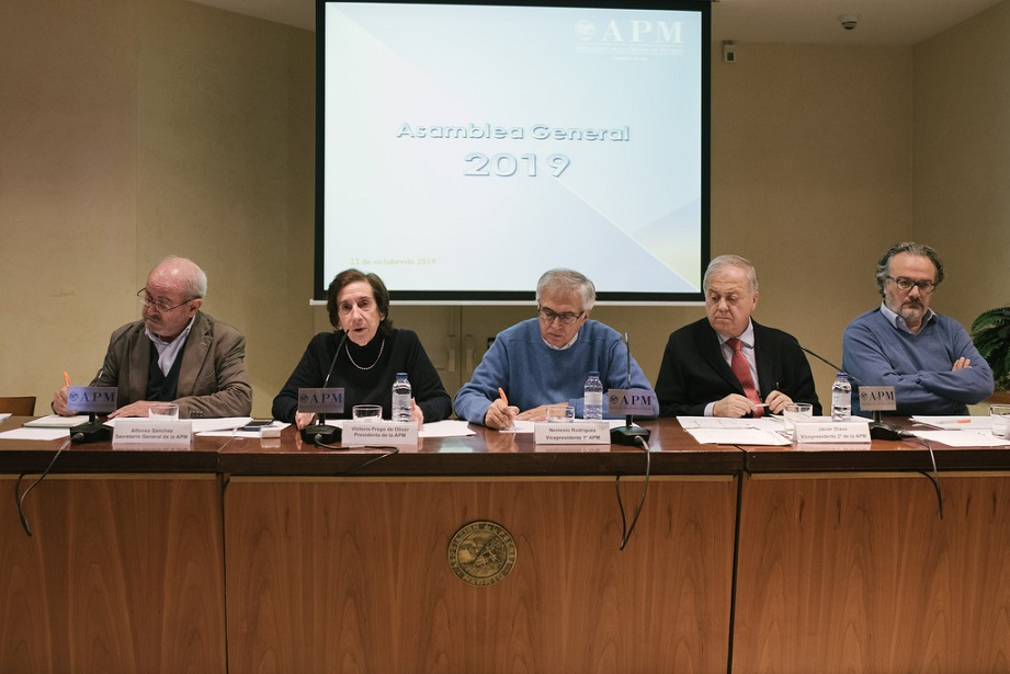 La Asamblea General de la APM aprueba el presupuesto para 2020