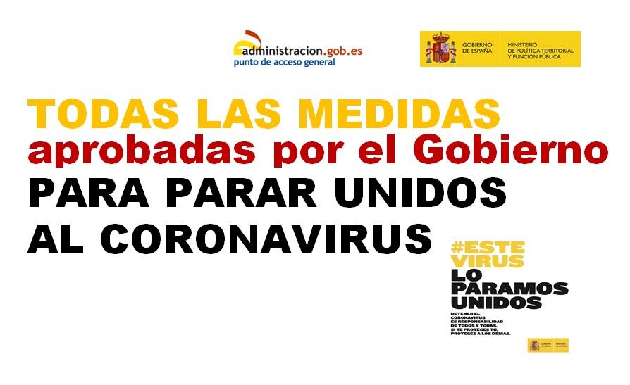 El Gobierno habilita un espacio web con todos los reales decretos sobre la crisis sanitaria del COVID-19