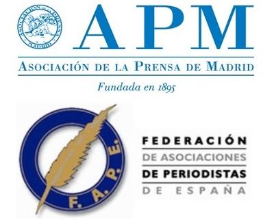 La APM y la FAPE reiteran al Gobierno su propuesta de ruedas de prensa con periodistas por videoconferencia