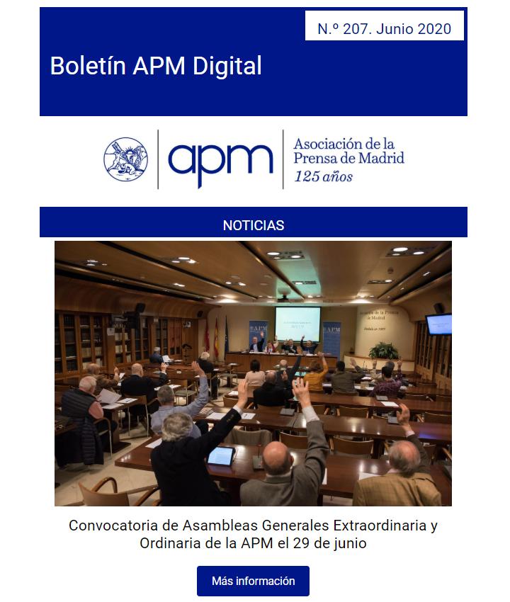 Boletín APM Digital junio 2020