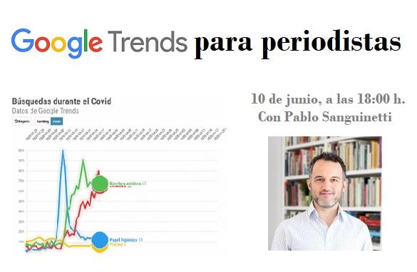 Taller 'online' de Google Trends gratuito para socios de la APM