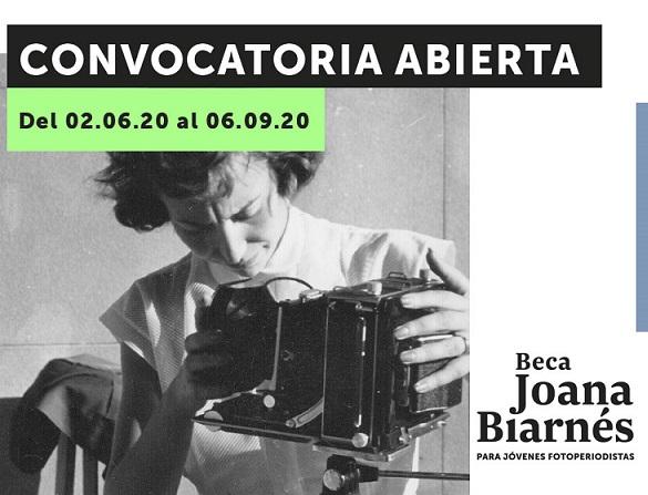 Lanzan la segunda edición de la Beca Joana Biarnés para Jóvenes Fotoperiodistas