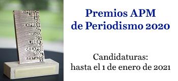 Premios APM de Periodismo 2020