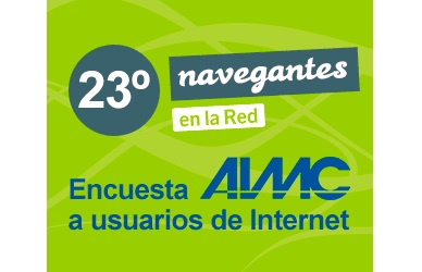 La AIMC pone en marcha la 23.ª Encuesta 'Navegantes en la Red'