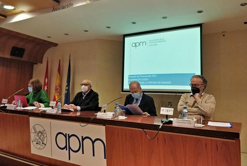 La Asamblea General de la APM aprueba por unanimidad el presupuesto para 2021