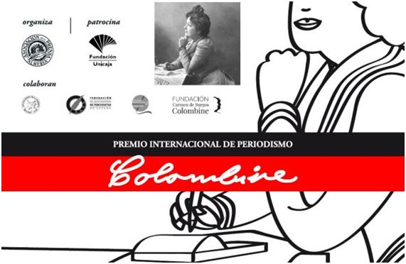 """Abierto el plazo para el X Premio Internacional de Periodismo """"Colombine"""""""