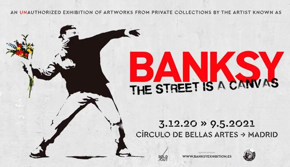 Socios APM: 20% de descuento en la exposición 'Banksy. The Street is a canvas'