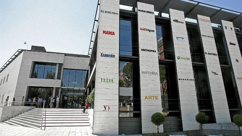 Los ingresos de Unidad Editorial se redujeron un 17,5% en el primer trimestre